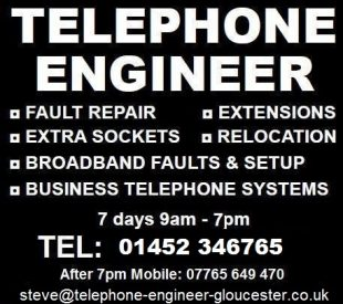 Telephone Engineer Gloucester