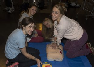 CPR Training at Bombay Sapphire