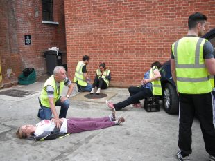 Plenty practical training & hands on learning with our team of Paramedics
